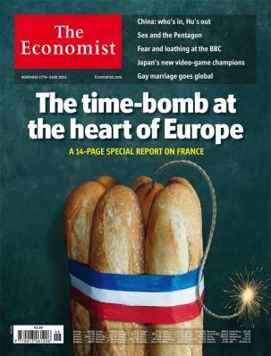 La Une du 17 novembre 2012 de The Economist