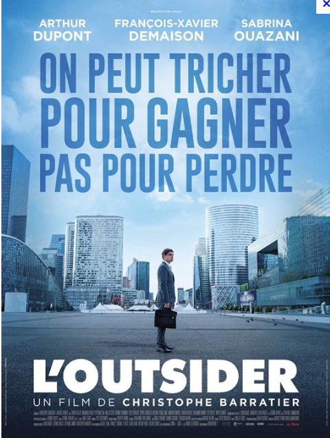 """Affiche du Film """"L'Outsider"""""""